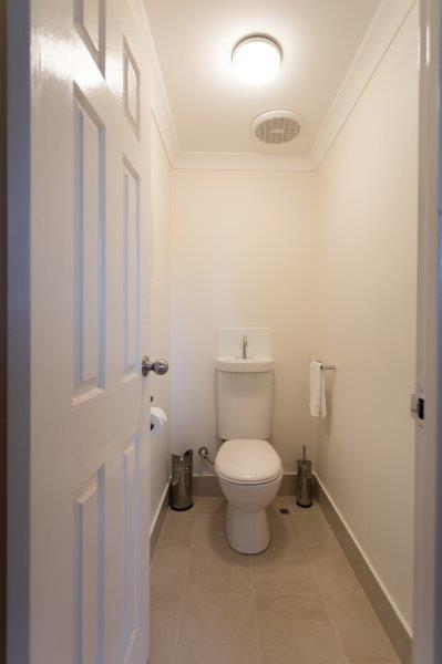 Downstairs WC - After
